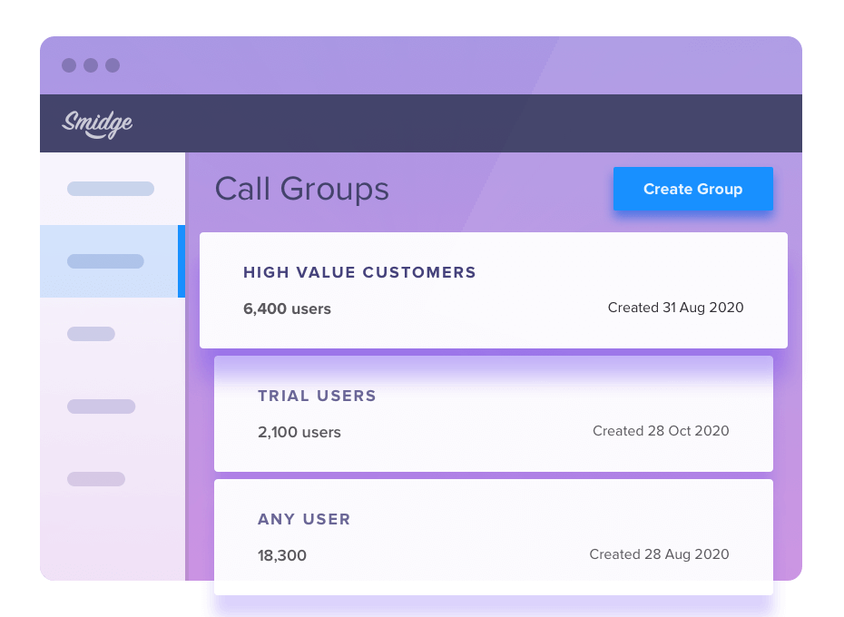 Add a custom message from anyone in the Customer Success team