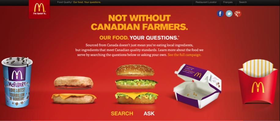 Mcdonald's Content Marketing
