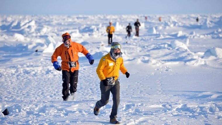 north pole marathon | One Step 4Ward