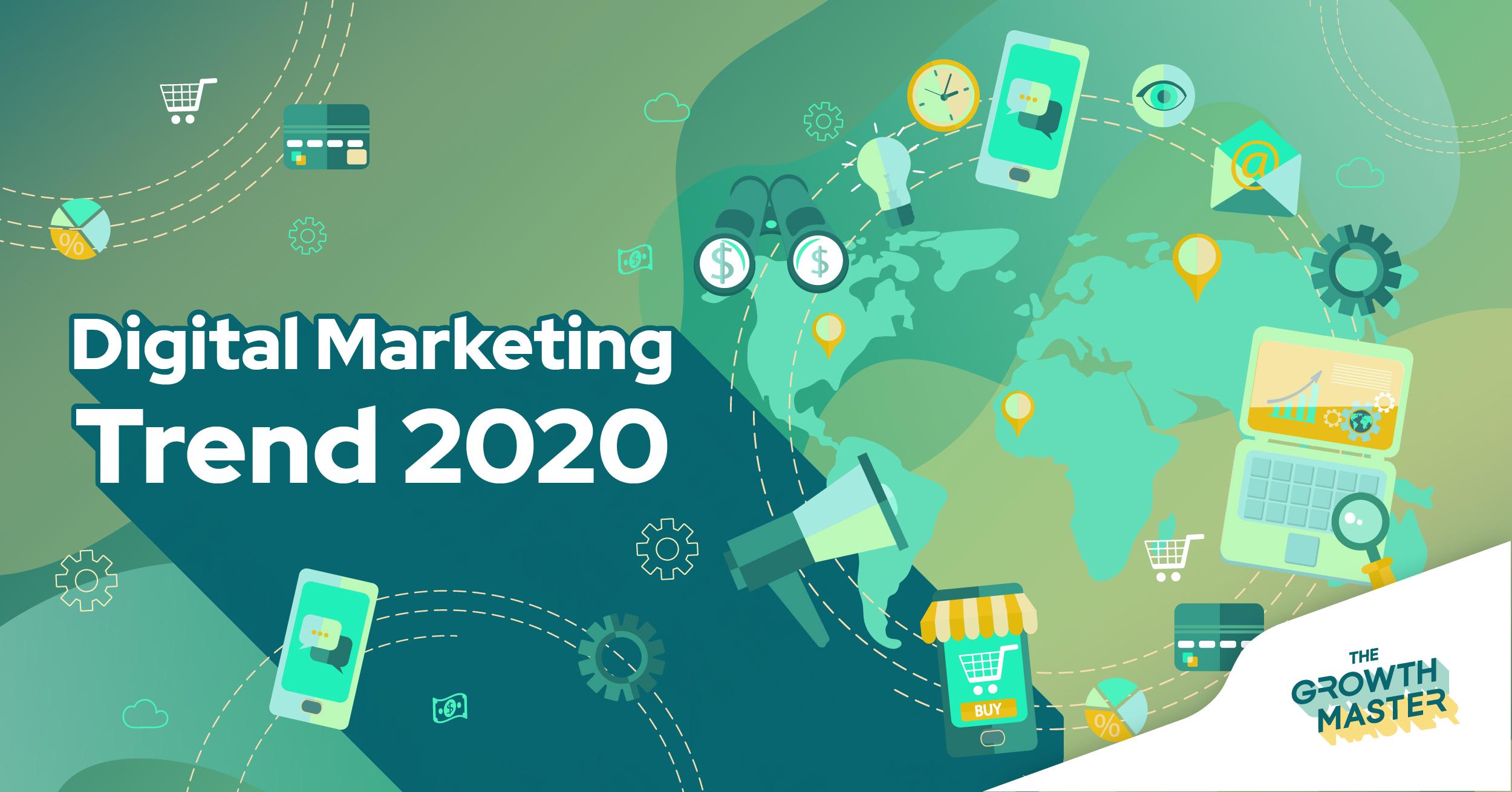 6 เทรนด์ Digital Marketing ที่น่าสนใจในปี 2020