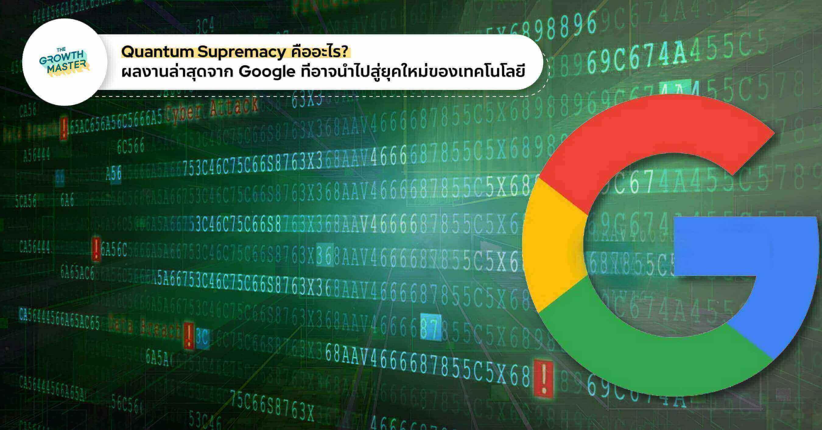 Quantum Supremacy คืออะไร? ผลงานล่าสุดจาก Google ที่อาจนำไปสู่ยุคใหม่ของเทคโนโลยี