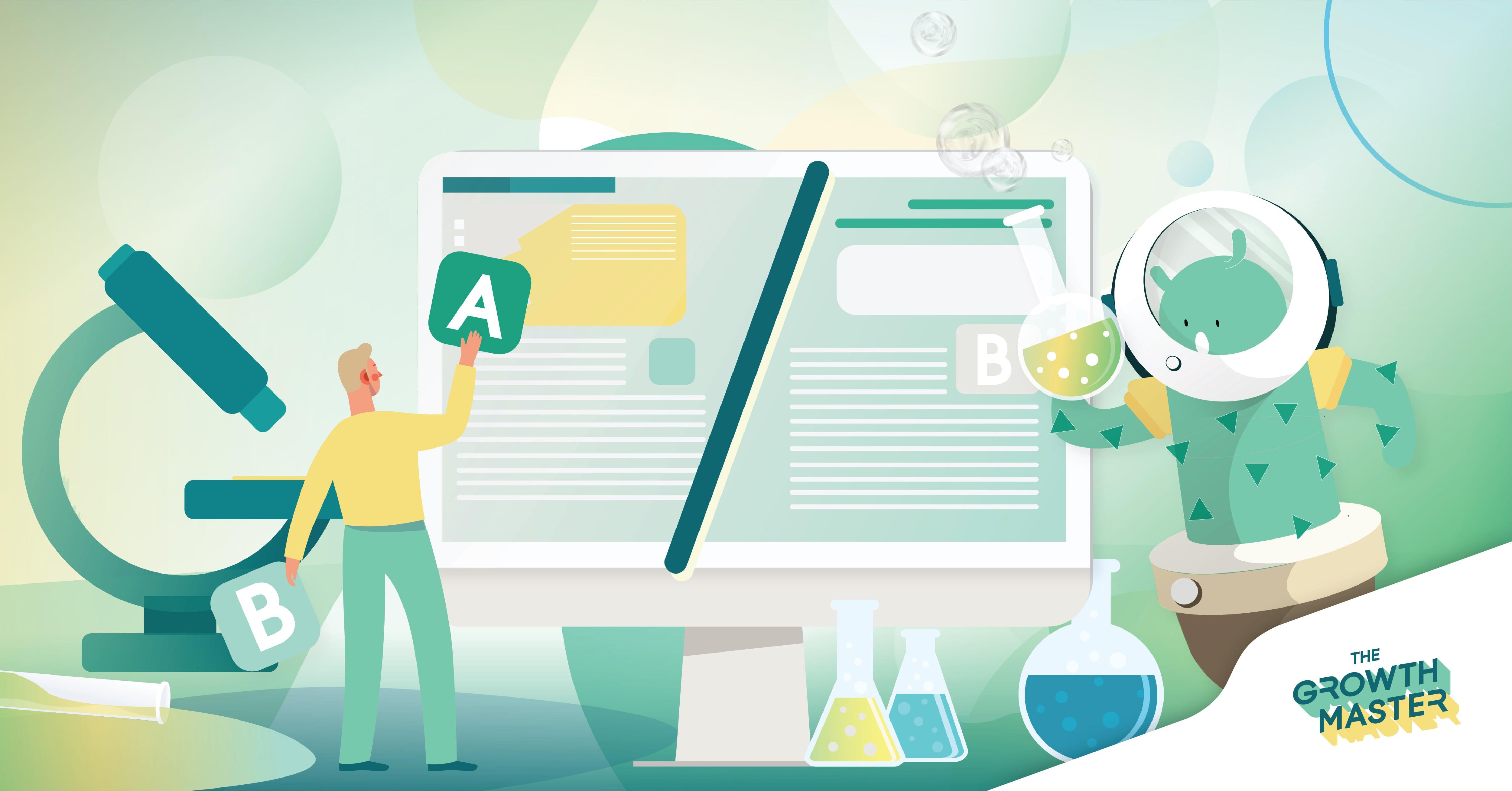 ใช้เทคนิค A/B Testing อย่างไร ให้การทำ Content Marketing  บนเว็บไซต์ โดนใจลูกค้ามากที่สุด!
