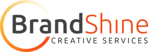 brandshine creative services logo.