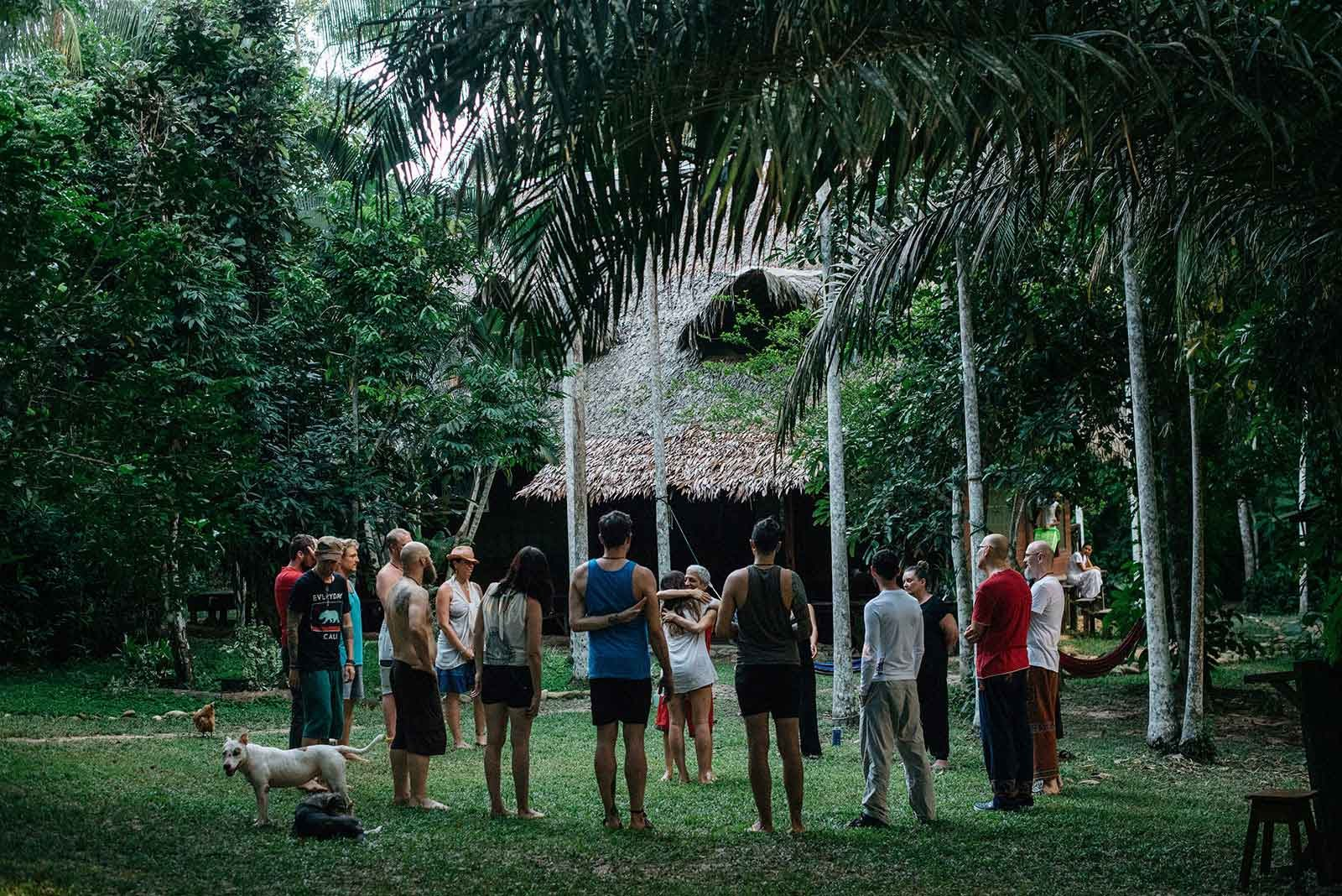 Behold Retreats, a wellness company that specialises in the therapeutic use of plant-based medicine to aid in personal and spiritual growth. Plant medicine, ayahuasca, psychedelics, psilocybin, 5-meo DMT. USA. Nimea Kaya Ayahuasca Retreat Peru