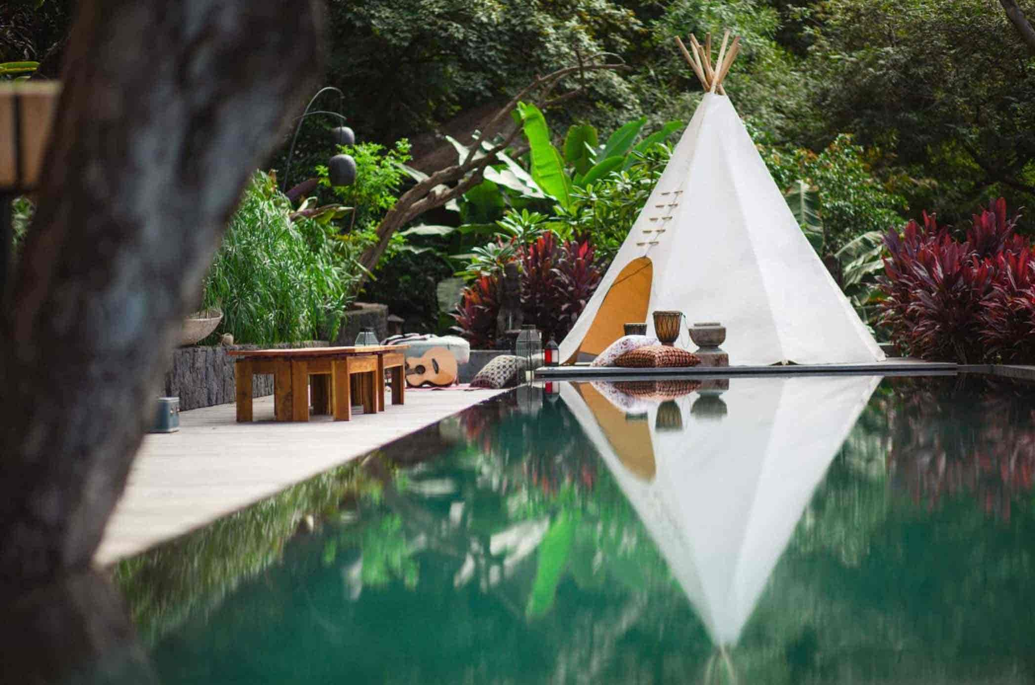 Costa Rica, El Chante Retreat, pool