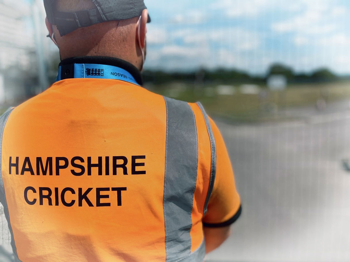 Hampshire Cricket event security