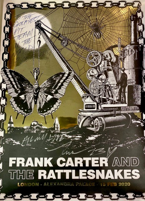 Frank Carter and The Rattlesnakes poster