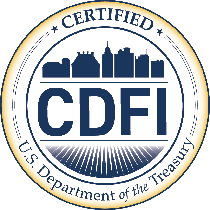 CDFI Certificate. Certified by the U.S. Department of the Treasury