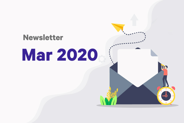 Newsletter: March 2020