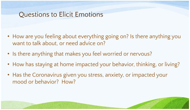 questions to Elicit Emotions
