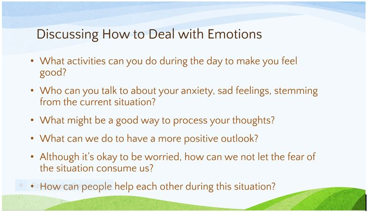 how to deal with emotions