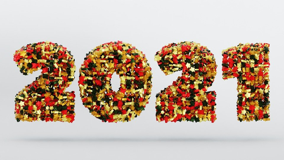 2021 formed with flower