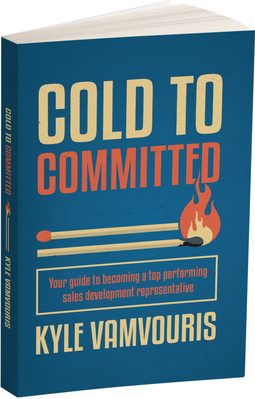 Rendered image of the book Cold to Committed