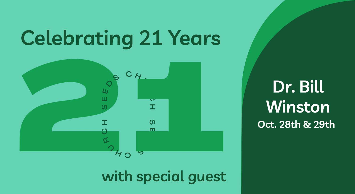 Guest Speaker: Dr. Bill Winston
