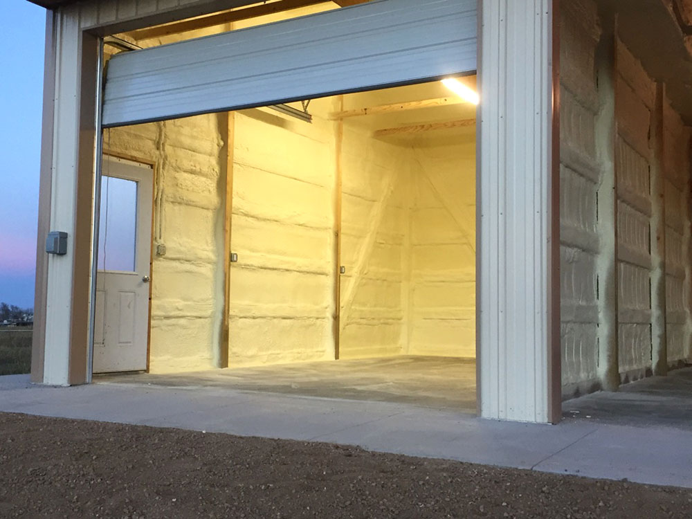 brighton horse stable with spray foam insulation