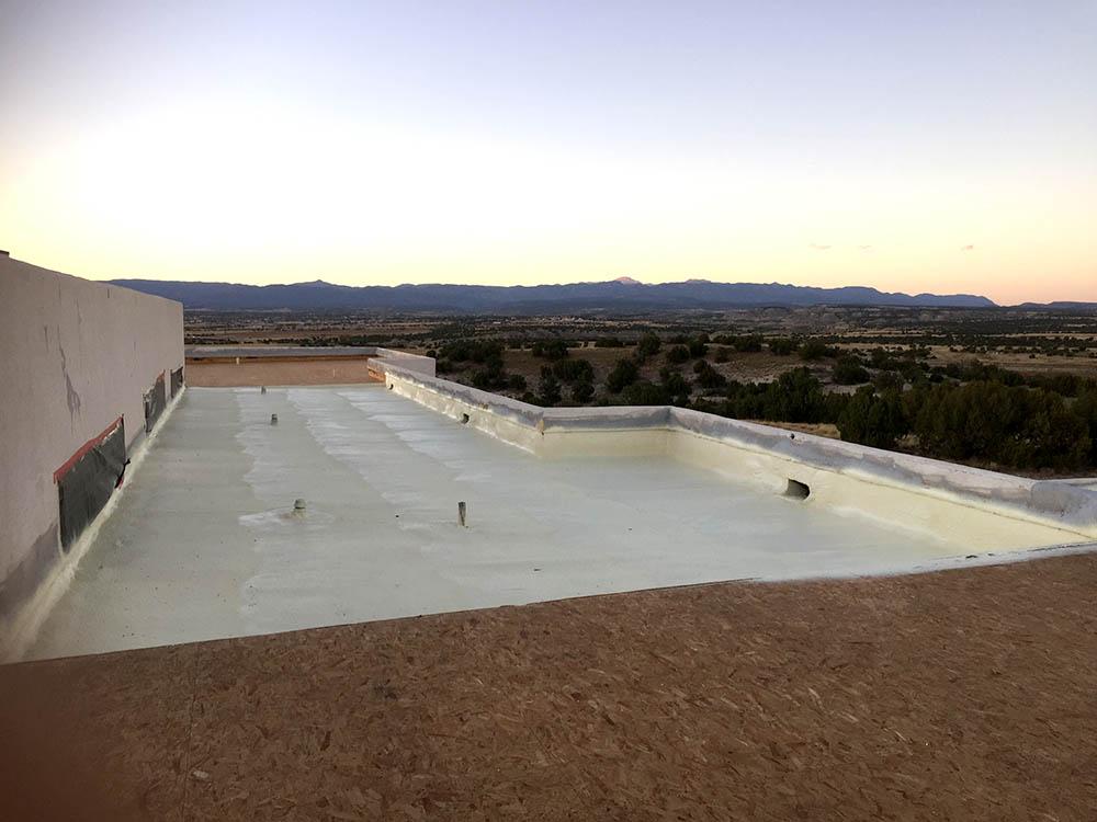 colorado springs, co adobe home spray foam roof