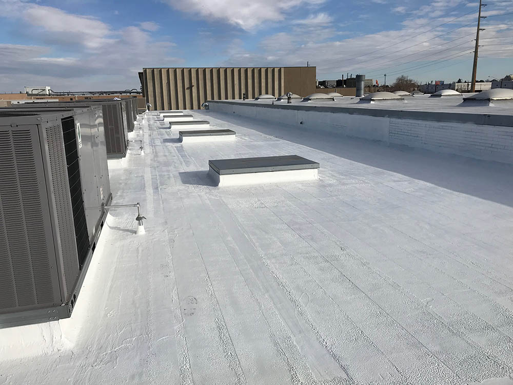 Cannabis Cultivation silicone roof coating.