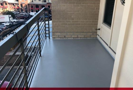 concrete sealed floor