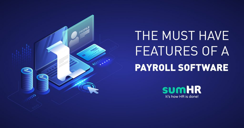 Features of Payroll Software