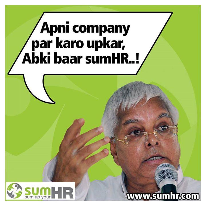 Entrepreneurs and Laloo Prasad Yadav