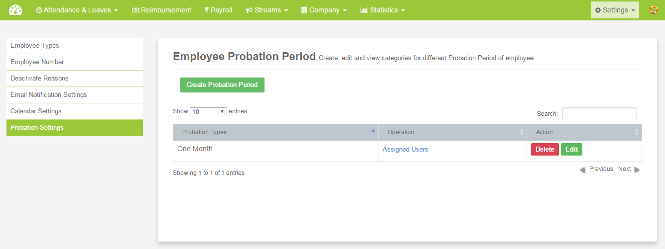 employee probation new