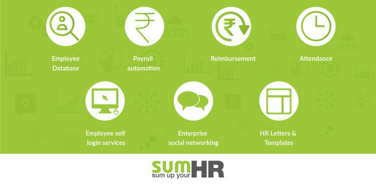 Major features of sumHR - HRMS Online
