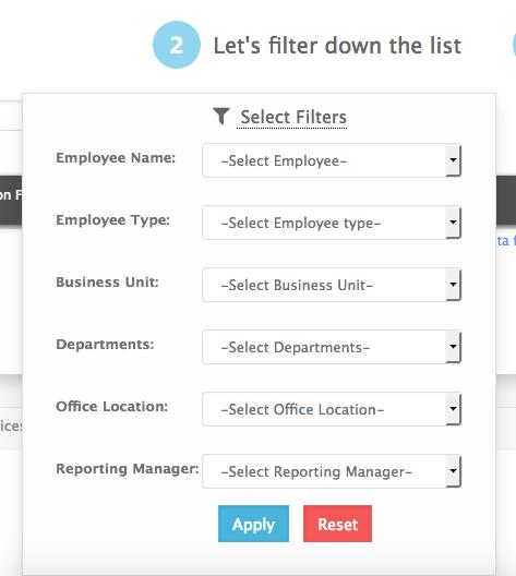List of employee