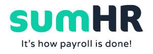 SumHR payroll logo