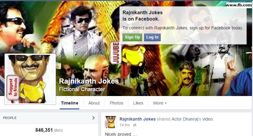 Rajnikanth Jokes