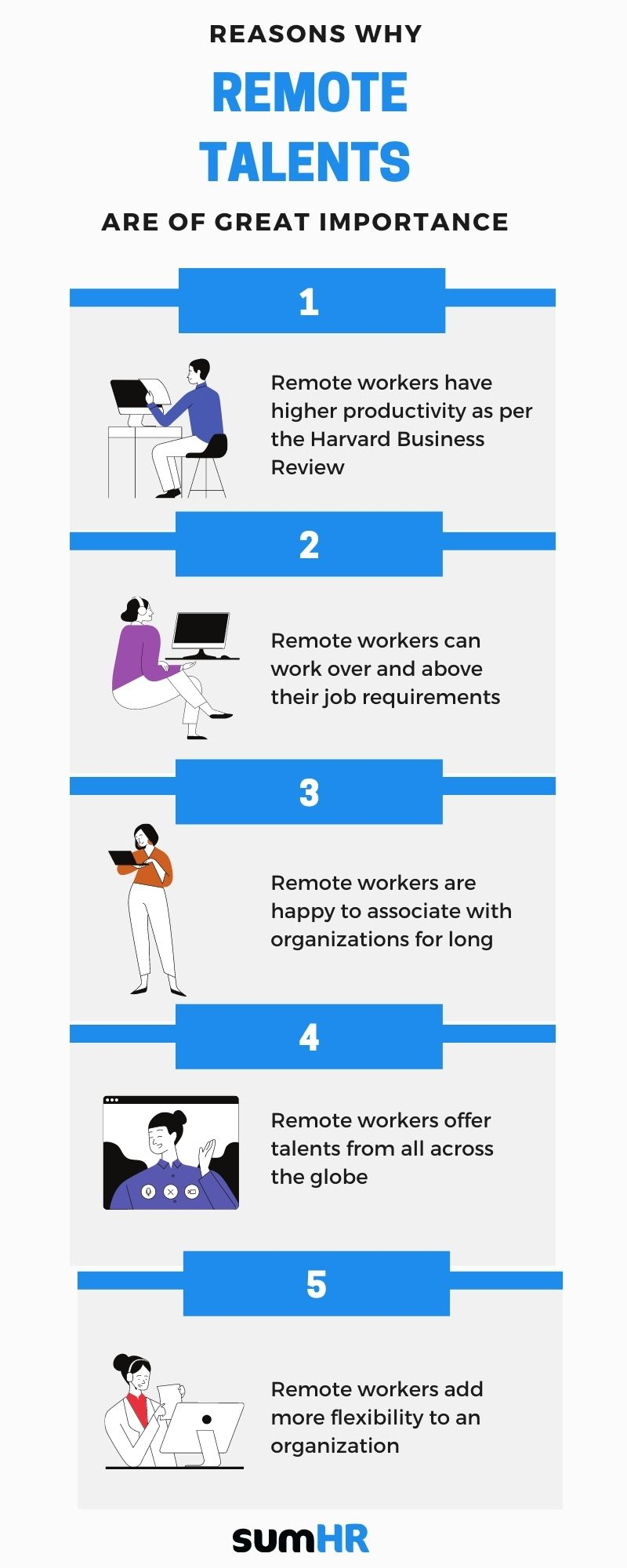 Reasons why remote talents are of great importance