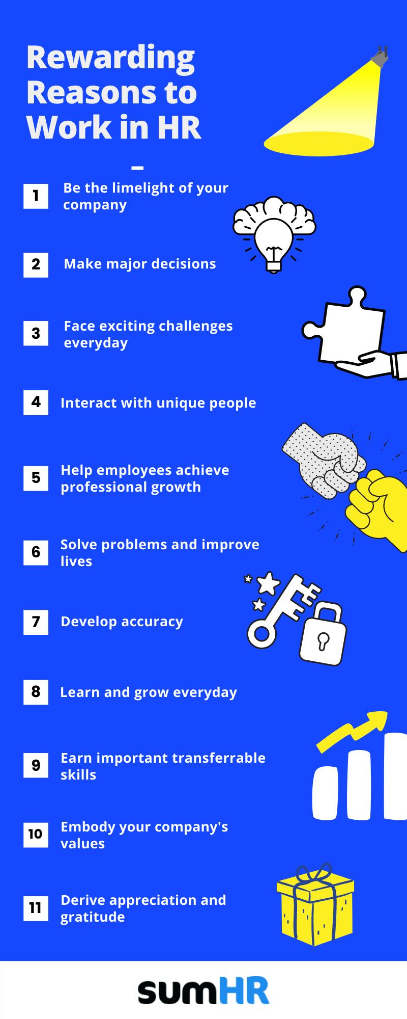 rewarding reasons to work in HR