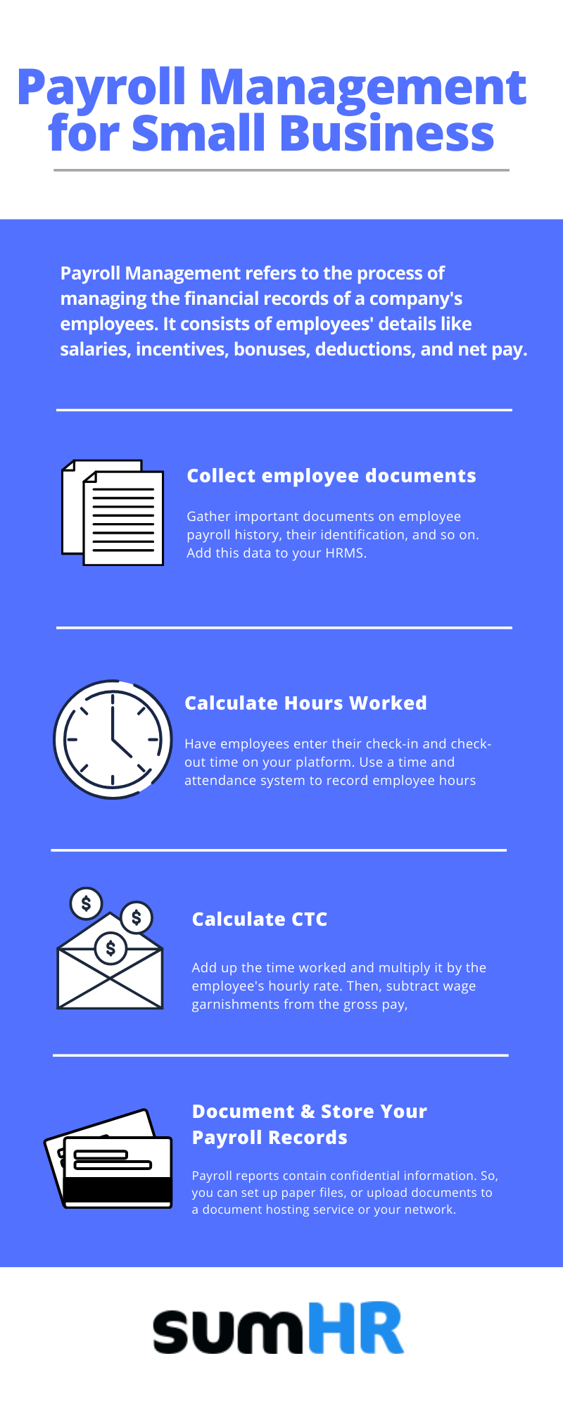 Steps for Payroll Management of Small Businesses
