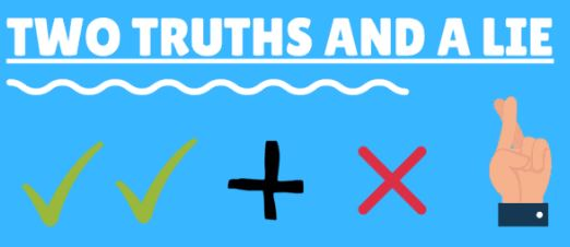 Virtual Team Building Games: Two Truths and A Lie