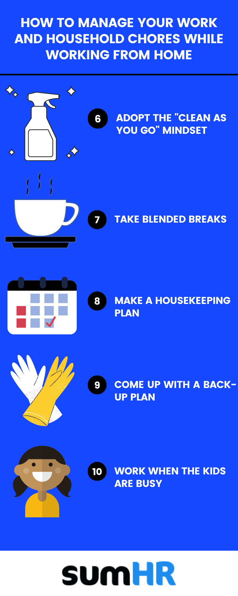 How to manage your household chores while working from home