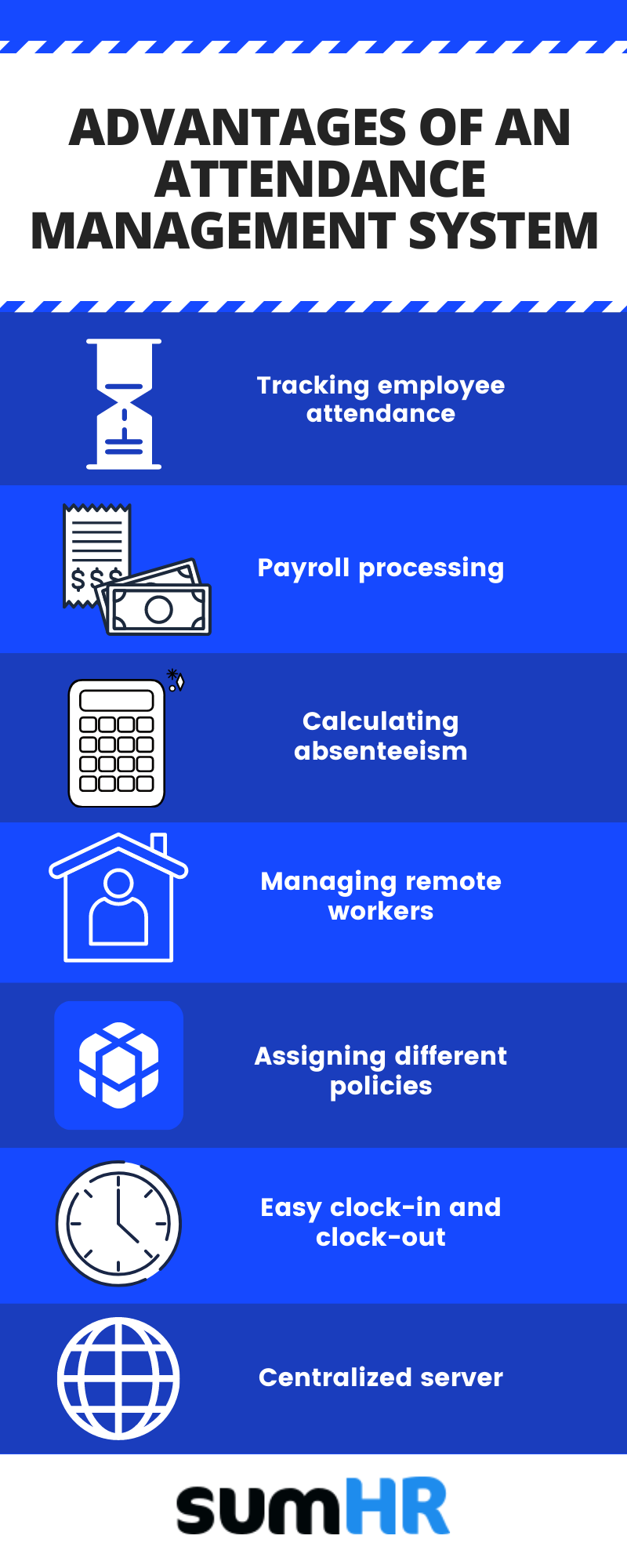 7 Reasons why you should adopt an Attendance Management System