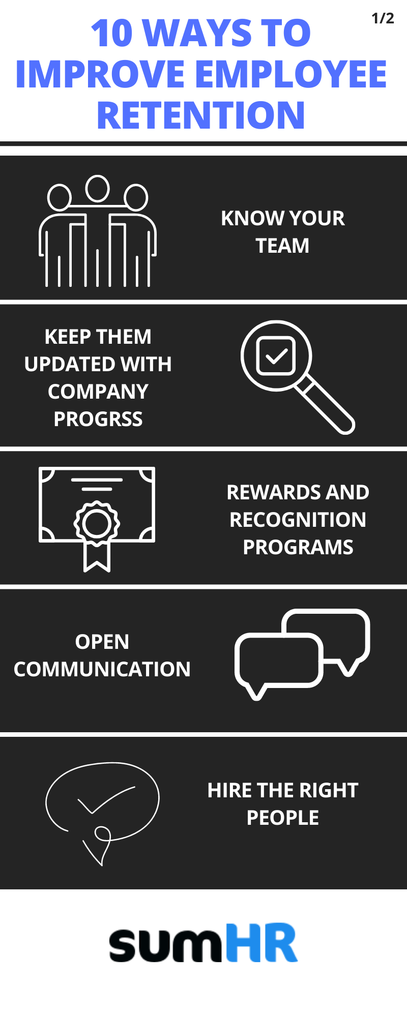 5 helpful tips to improve your employee retention