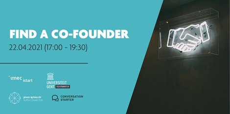 Find a Co-Founder - Tech Startup Matchmaking Event