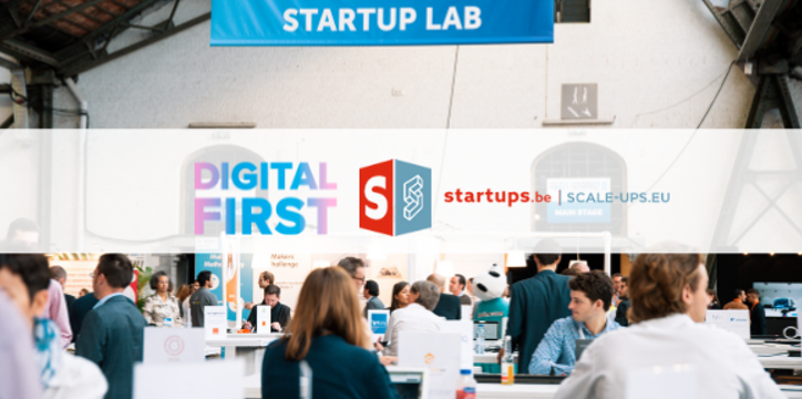 Startups.be | Scale-Ups.eu again partner of the Startup Lab at Digital First