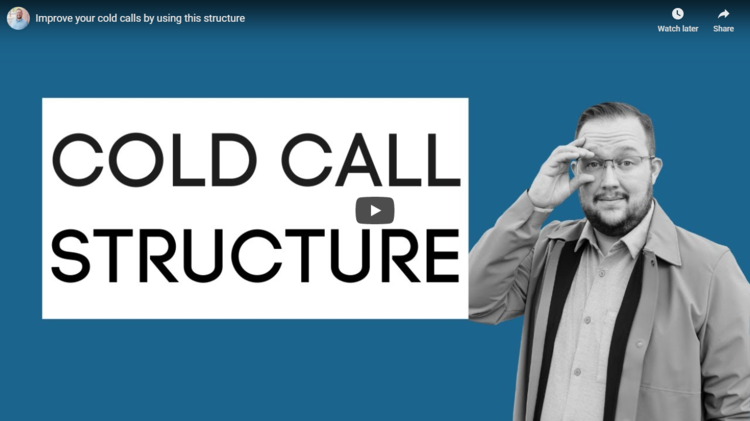 Cold call structure thumbnail.