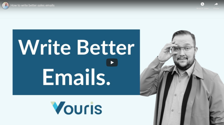 Write better emails thumbnail.