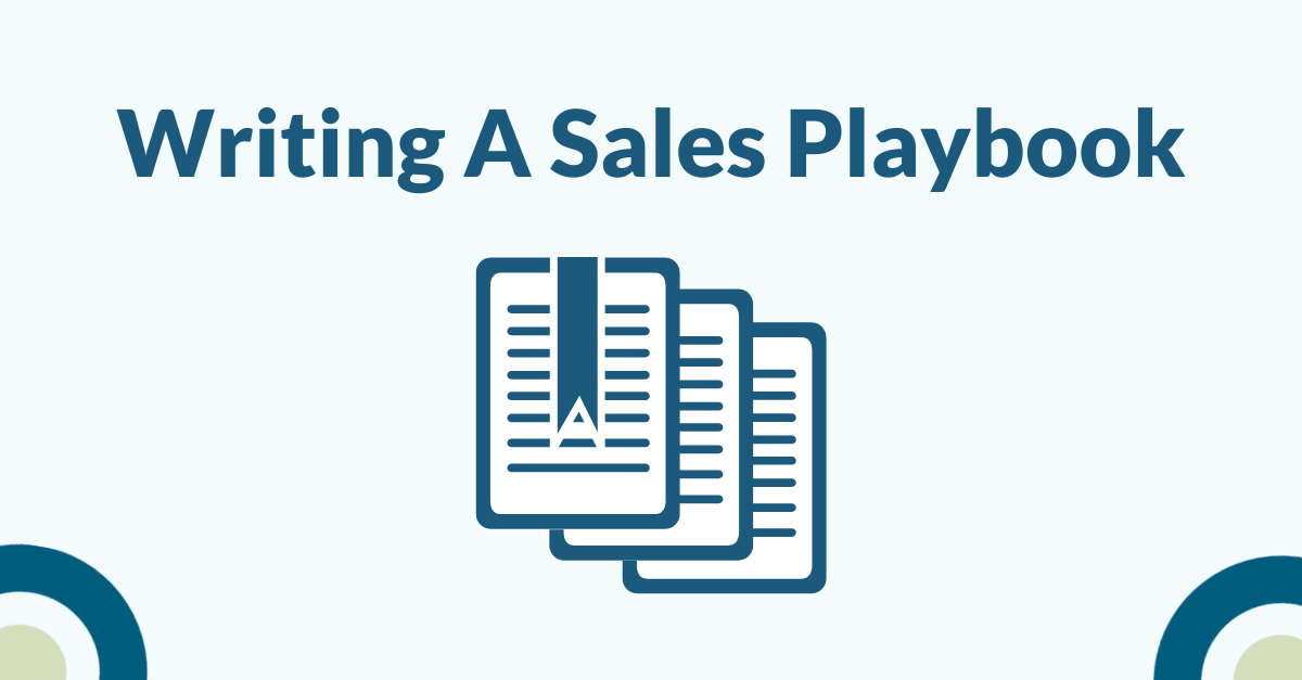 Writing a Sales Playbook