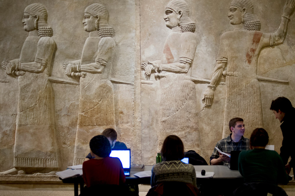 Study night at the Oriental Institute