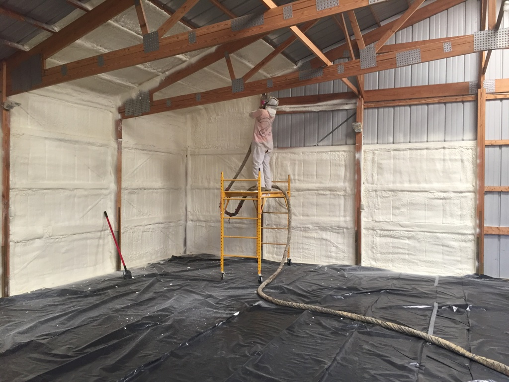 Metal Buildings & Spray Foam Insulation