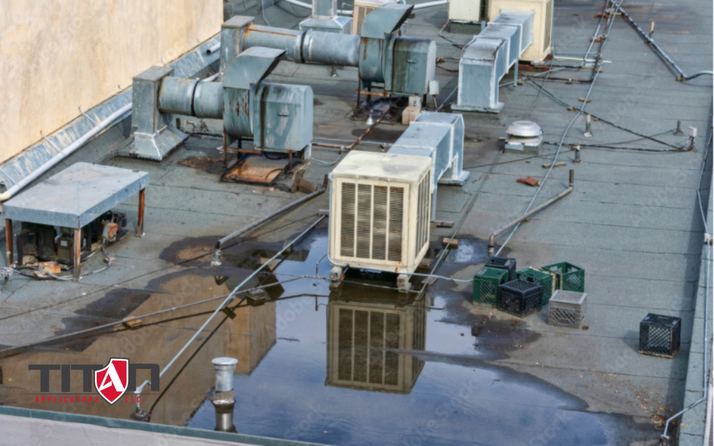 Top 5 Causes of Commercial Roof Leaks [That Aren't Actually Roof Leaks]