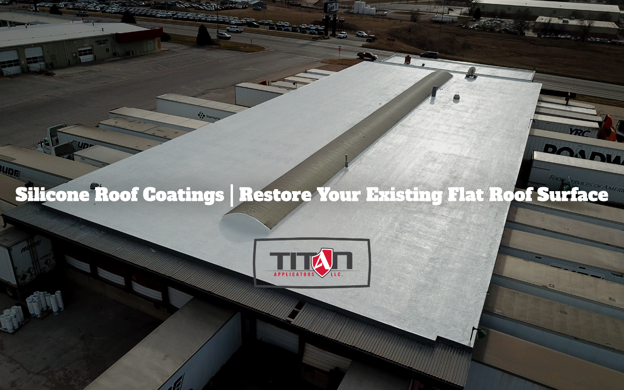 Silicone Roof Coatings | Restore Your Existing Flat Roof Surface