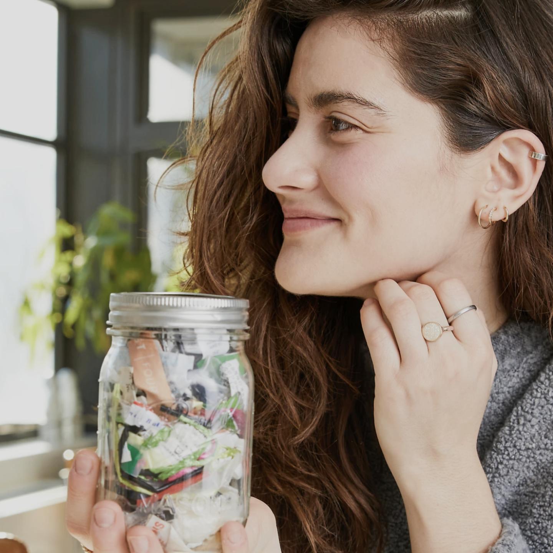 Lauren Singer: How an Influencer Turned a Mason Jar into a Movement