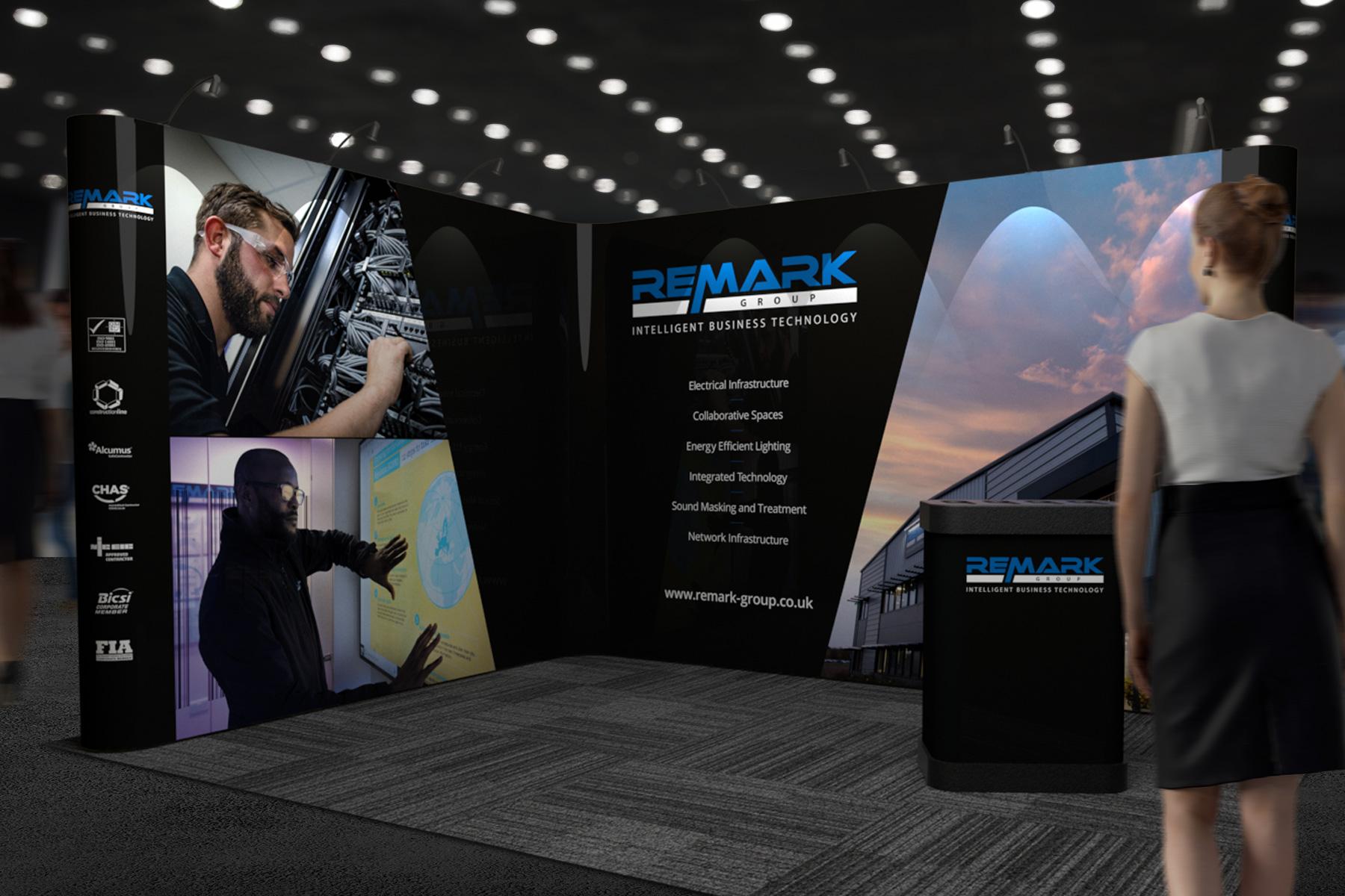 Remark exhibition stand design