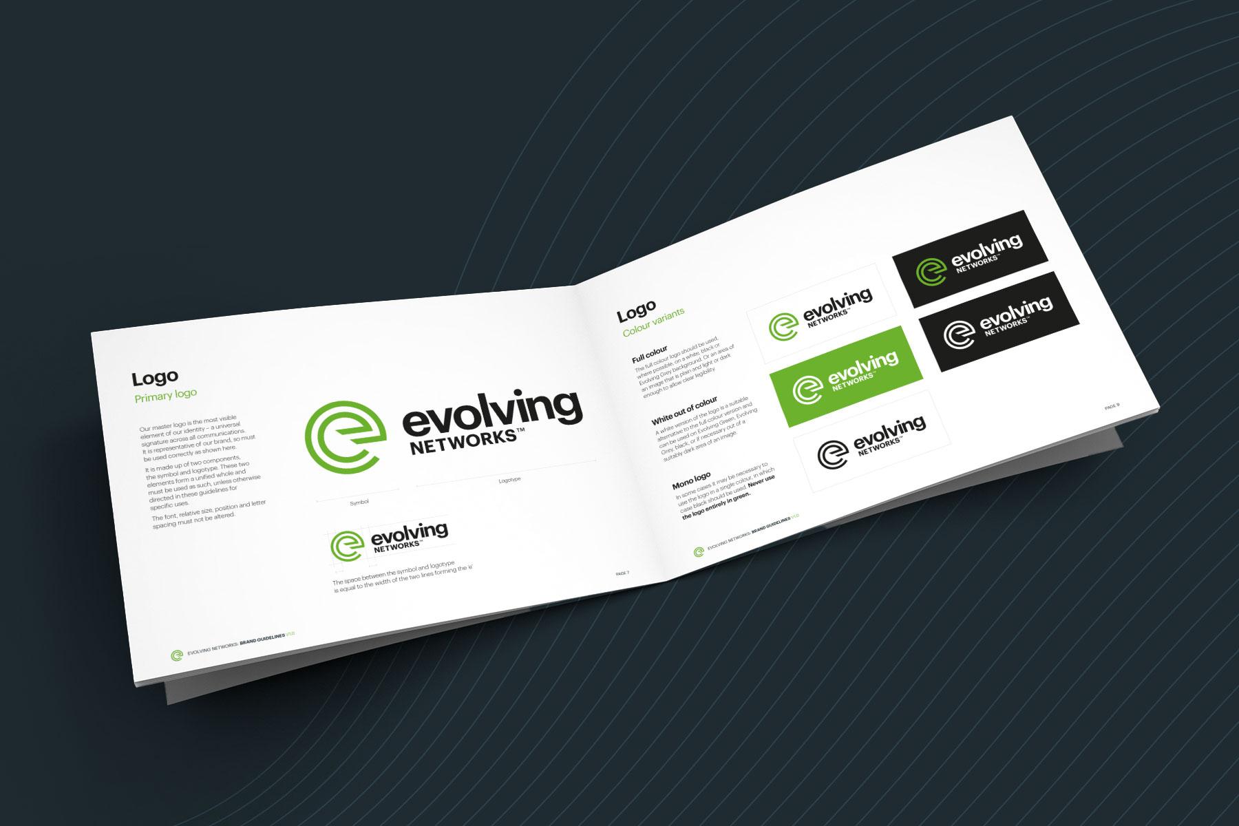 Evolving Networks Branding - Brand Guidelines