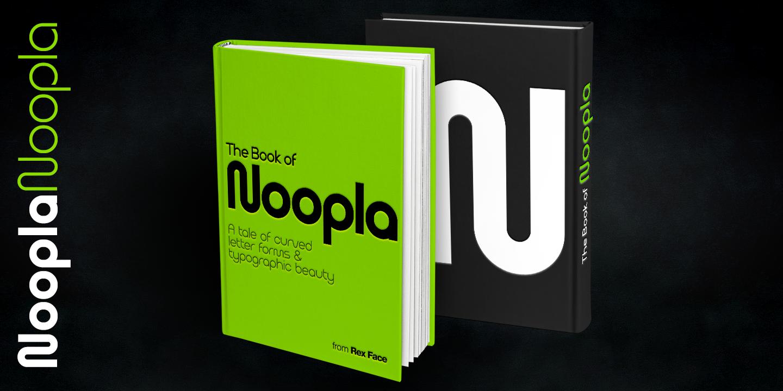 Custom Typeface Design - Rex Face - Noopla