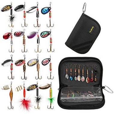 PLUSINNO Bass and Trout Ice Fishing Lure